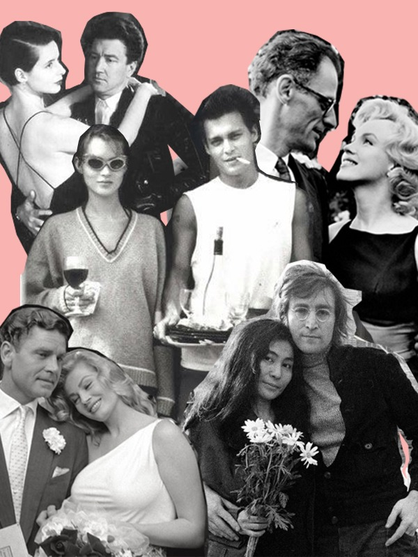 FAMOUS COUPLES & EYEWEAR LOVE STORIES