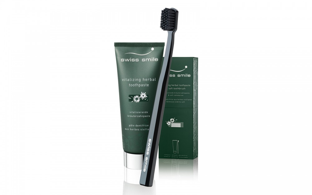 Herbal Bliss Toothpaste & Toothbrush