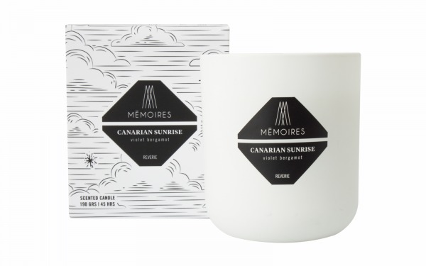 Canarian Sunrise Scented Candle