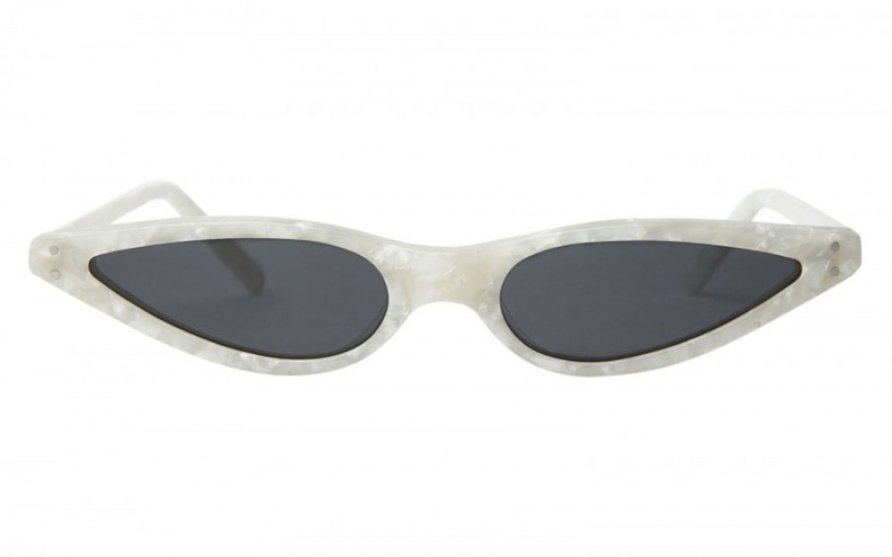 Small Pearl White Cat Eye sunglasses