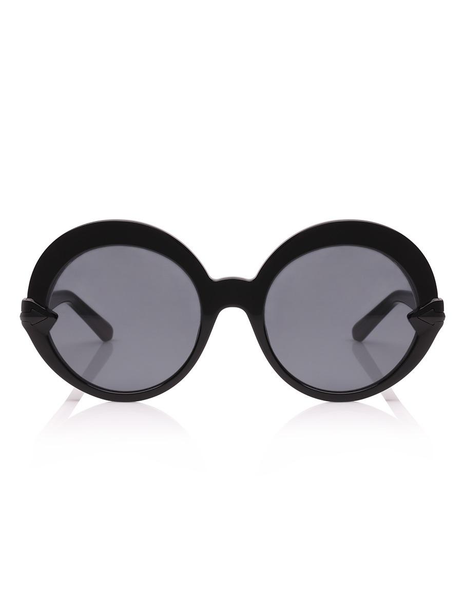 8a4c186f12 Karen Walker  Romancer  Black Sunglasses