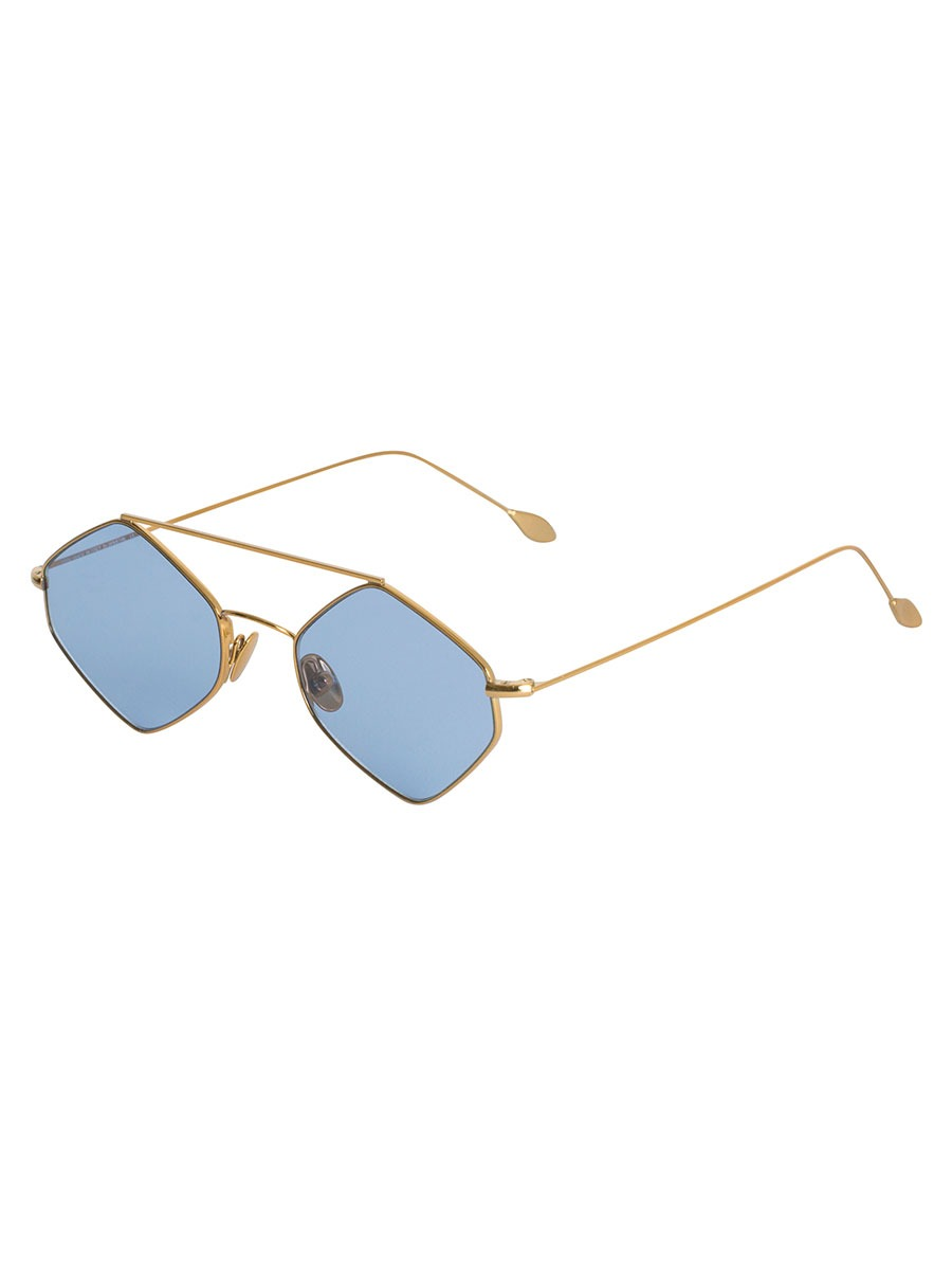 RIGAUT Gold & Blue sunglasses