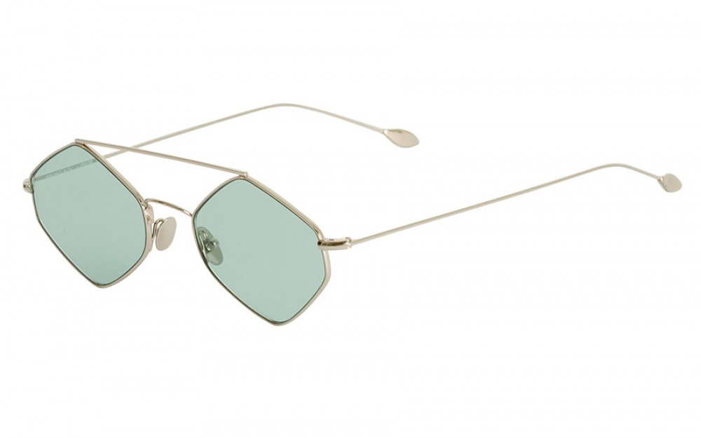 RIGAUT Gold & Light Green sunglasses