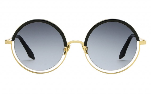 DECHIRICO Gold & Black sunglasses