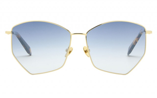 RENE Gold & Blue sunglasses