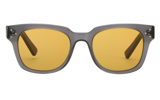 SEMPER ADAMS Grey & Burnt Orange sunglasses