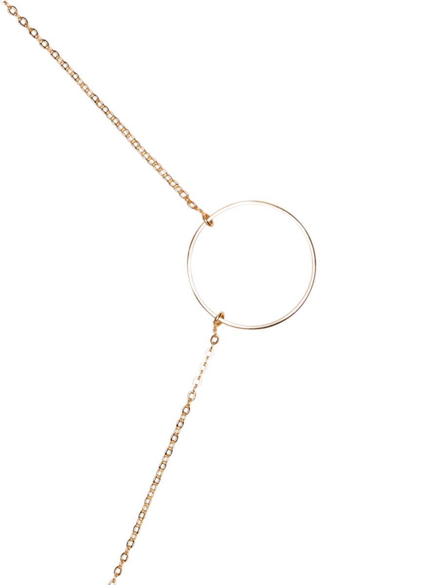 LOOP DE LOOP glasses chain in Yellow Gold