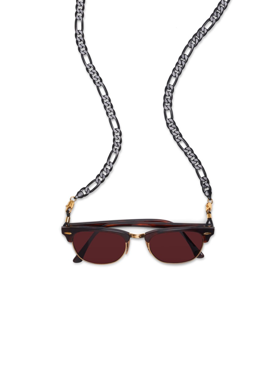 PANTHER glasses chain in Black Lacquer