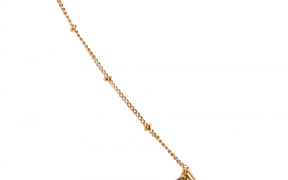 DOTTY glasses chain in Yellow Gold