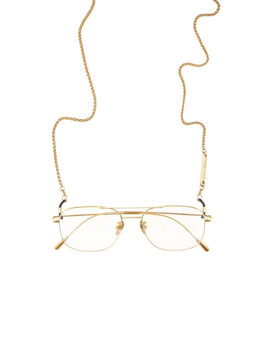 MONKEY glasses chain in Yellow Gold