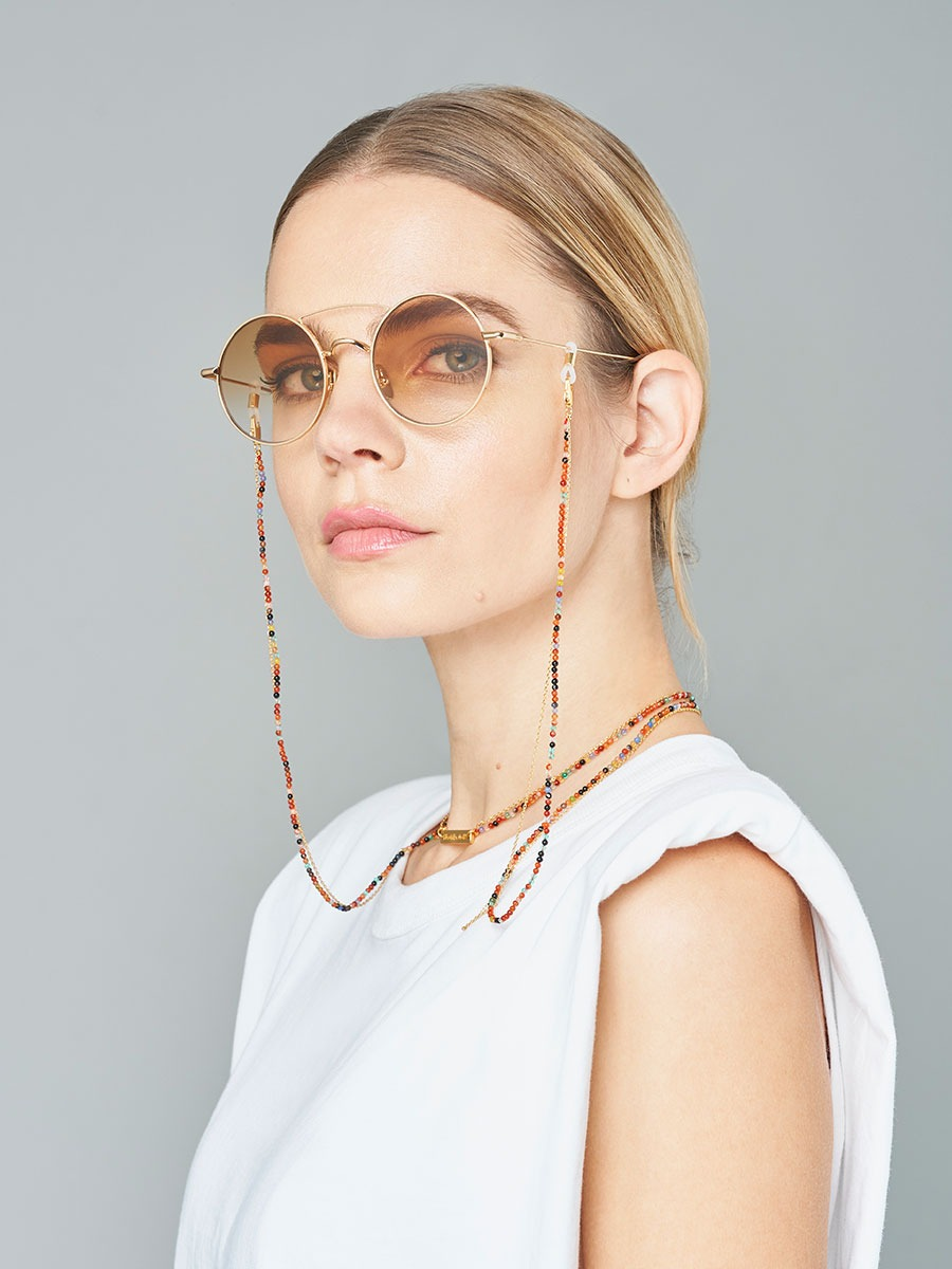 IT'S A WRAP glasses chain in YELLOW GOLD