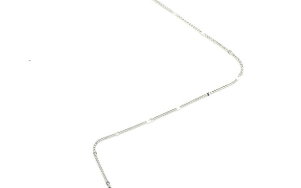 CHIP glasses chain in White Gold