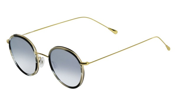 Morgan Flat Horn & Gradient Silver sunglasses