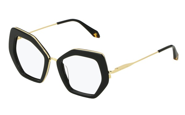 Skyler Gold & Black eyeglasses