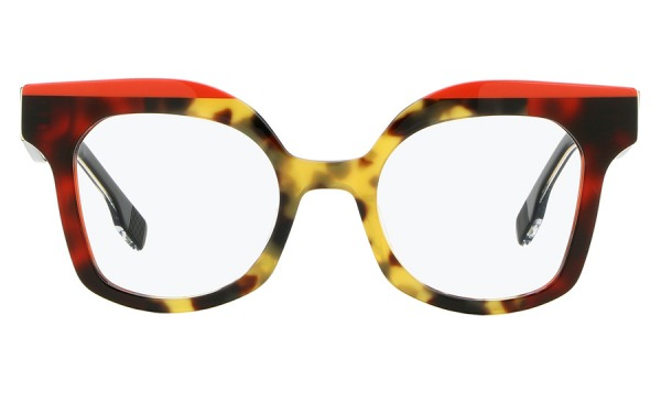 Dora Havana & Red eyeglasses