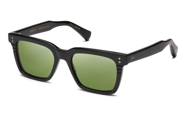 Sequoia Matte Black & Vintage Green sunglasses