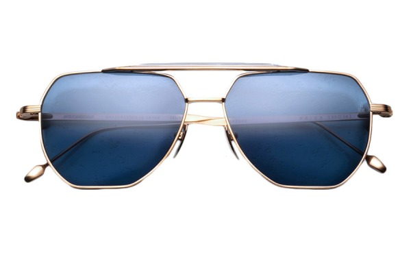 Brion Gold sunglasses