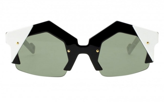 DUA 2 - BLACK WHITE sunglasses
