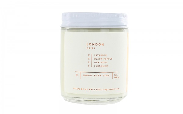 'LONDON' Scented Candle