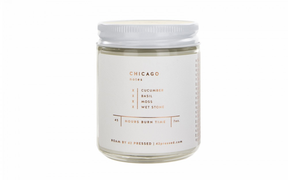 'CHICAGO' Scented Candle