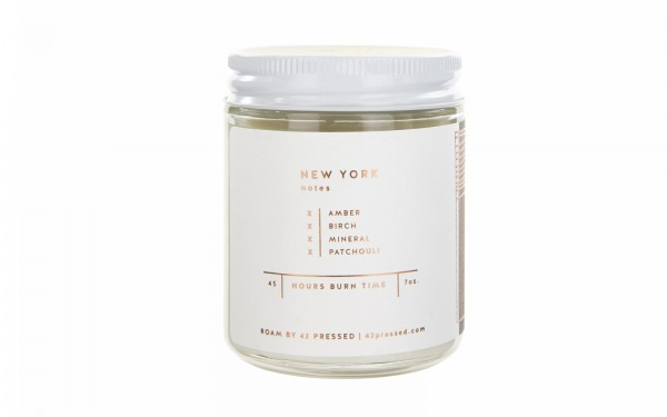 'NEW YORK' Scented Candle