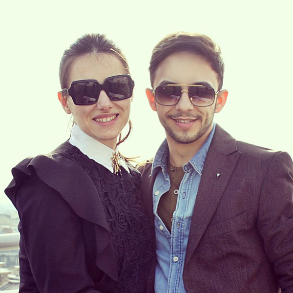 Mauvert Duo Wearing SunglassCurator.com Shades