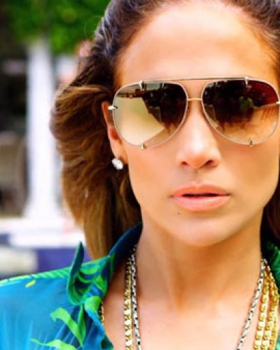 Jennifer Lopez in Dita Eyewear