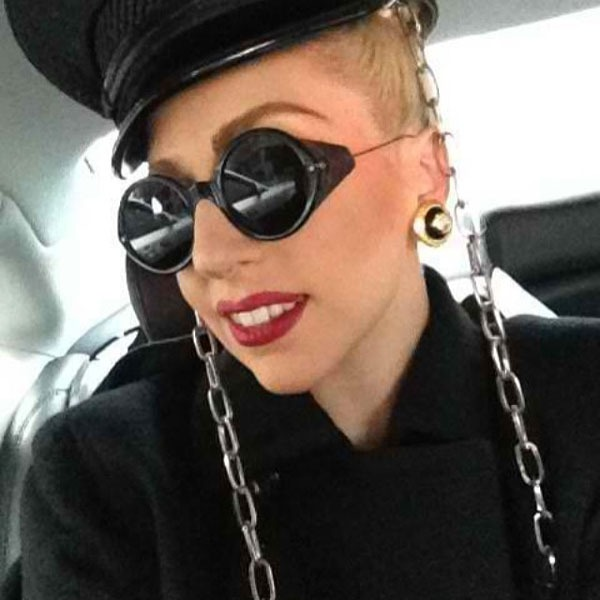 Lady Gaga in Thom Browne Eyewear