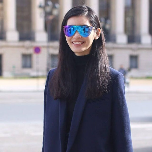 Ming Xi in 3.1 Phillip Lim Eyewear