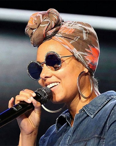 Alicia Keys in Cutler & Gross