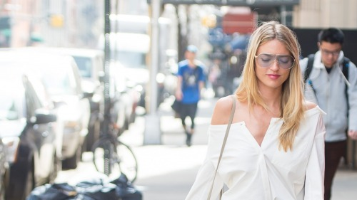 Martha Hunt in 3.1 Phillip Lim