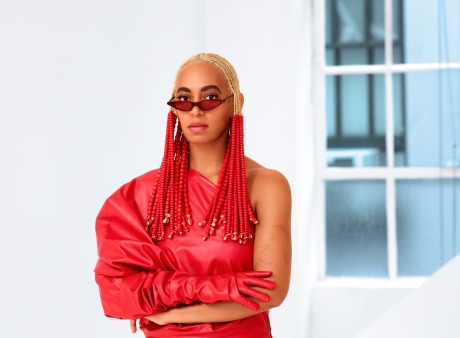 Solange Knowles in George Keburia