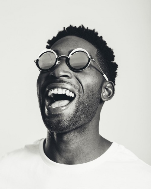 Tinie Tempah in Cutler and Gross