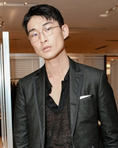 Sang Woo Kim in Thom Browne