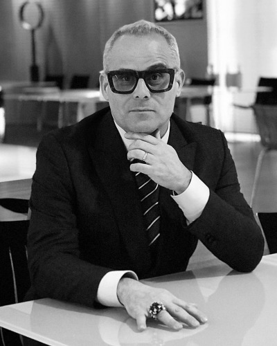DJ Roberto Intrallazzi in Thom Browne Eyewear