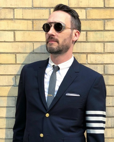 Rolf Springer in Thom Browne