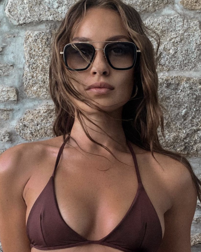 Olivia Johnson-Aley in Dita Eyewear